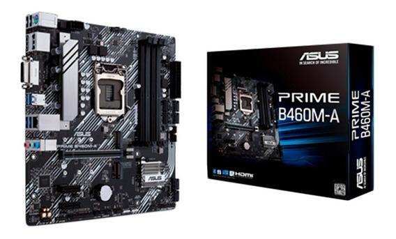 Motherboard Asus Prime B460m-a 1200 Ddr4 10ma Generación Pce