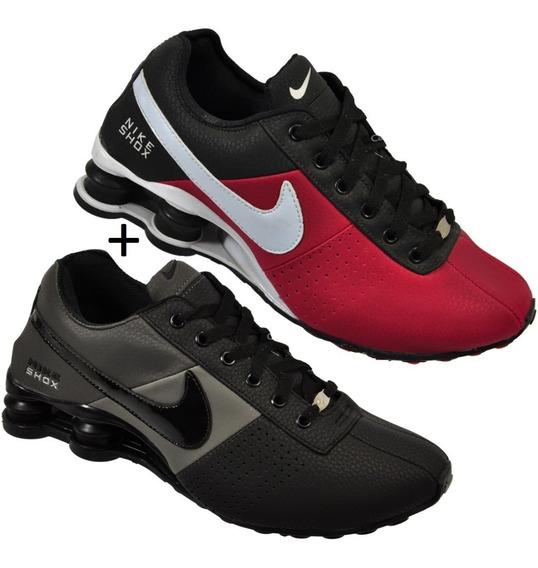 Tênis Nike Sxhox Classic Deliver 4 Molas Promoção Kit 2 Par