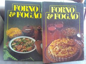 Forno E Fogão 2 Volumes Capa Dura Bom Estado Círculo Livro