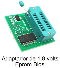 Adaptador 1.8v Eprom Bios Soic8 Sop8 Gravador Ch341a Ch341