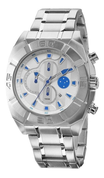 Relógio Technos Cruzeiro Oficial Cronógrafo Cruos10aa/3k