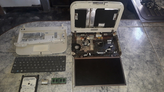 Laptop Letras Rojas (gruesa) Para Repuesto.