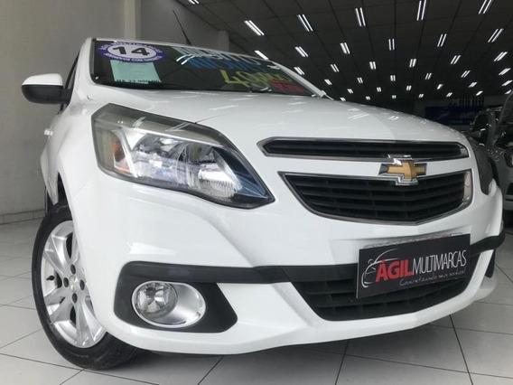 Chevrolet Agile Ltz 1.4 Flex 2014 Branco Único Dono