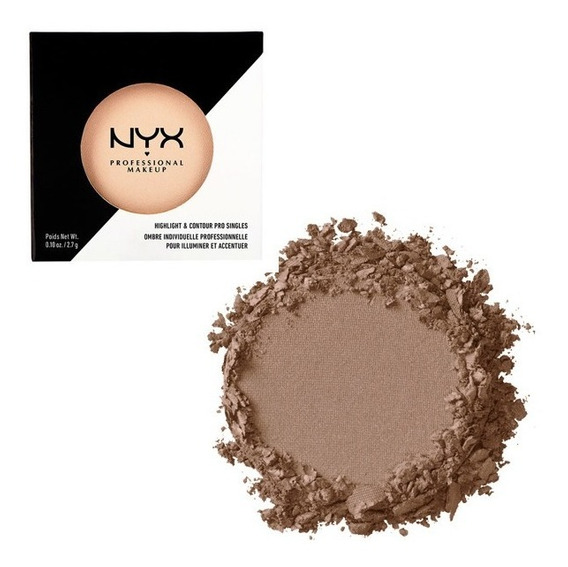 Nyx Highlight & Contour Refil Contorno Matte Nyx Cor Sienna