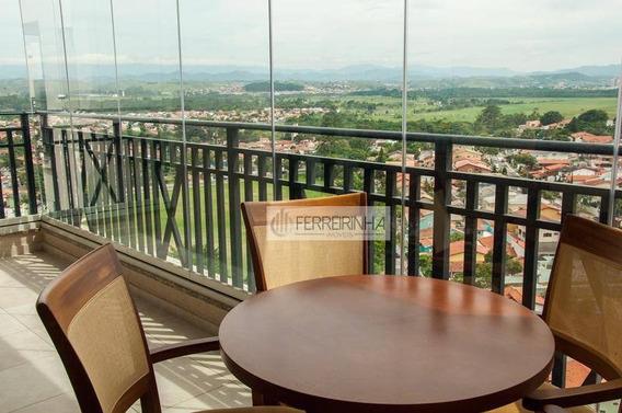 Apartamento Residencial Para Venda E Locação, Esplanada Resort, São José Dos Campos - Ap3073