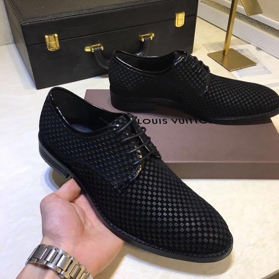 Zaptos Louis Vuitton Casual Cuero Genuino ( Bajo Pedido )