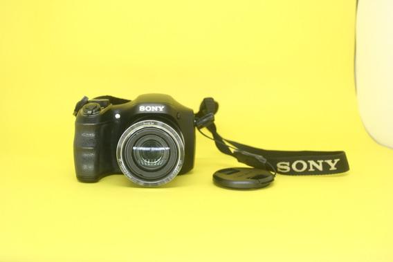 Câmera Semi Profissional Sony Dsc-h200