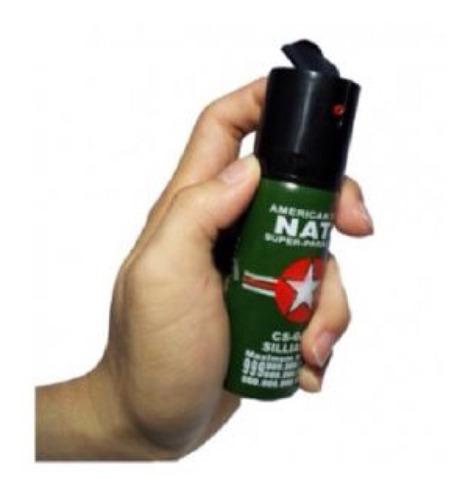Super Gas Pimienta Spray Defensa Personal + Carnet Porte!