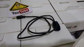 Microfone Sj4000 Lapela 1,2 M (ler Descrição) Patomotos