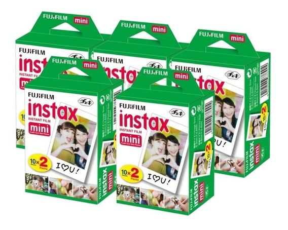 Papel Filme Para Instax Mini 7, 8 E 9 - 100 Fotos 5,4 X 8,6