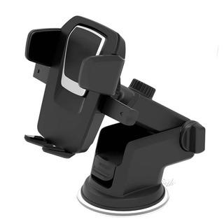 Suporte Celular Fixa No Vidro E Painel C/ Trava Automática