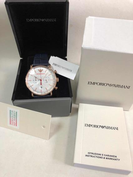 Relógio Emporio Armani Ar11123 Com Caixa E Garantia Ea Novo