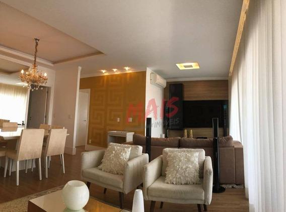 Apartamento Com 2 Dormitórios À Venda, 100 M² - Gonzaga - Santos/sp - Ap5131
