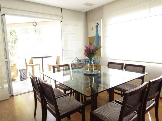 Apartamento Com 4 Dormitórios À Venda, 130 M² Por R$ 1.250.000,00 - Perdizes - São Paulo/sp - Ap55152