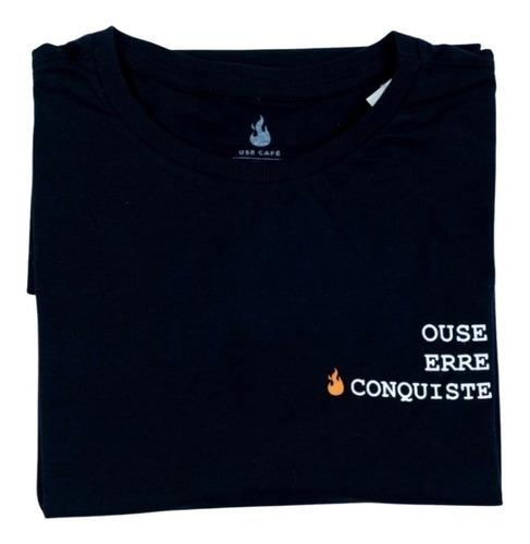 Camiseta Ouse - 100% Algodão - Unissex - Use Café