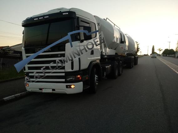 Scania R 124 400 2002 6x2