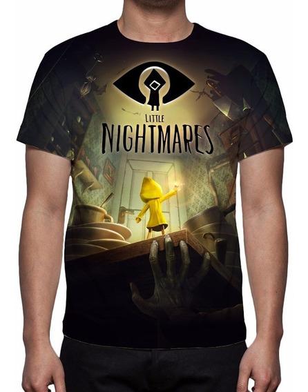 Camisa, Camiseta Game Little Nightmares - 2017 Estampa Total