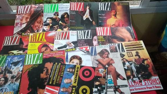 Bizz Dos Anos De 1994 E 1995 Lote Com 15 Revistas Em Oferta
