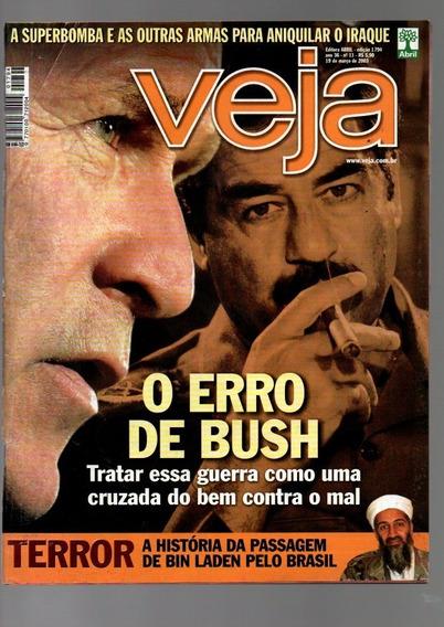 Revista Veja O Erro De Bush Nº 1794 Ano 2003