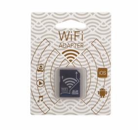 Flash Memory Card W/ Wi-fi Sd Adapter Pronta Entrega
