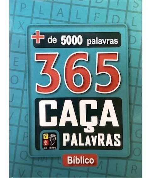 365 Caça Palavras Bíblico - Mais De 5000 Palavras