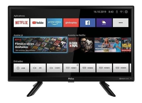 Tv Philco Smart 24 Ptv24g50sn Wifi Netflix Amazon Youtube
