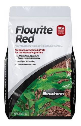Sustrato Para Acuarios Plantados Seachem Flourite Red 3,5kg