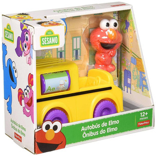 Vila Sesamo Onibus Do Elmo Ftc34 - Fisher Price