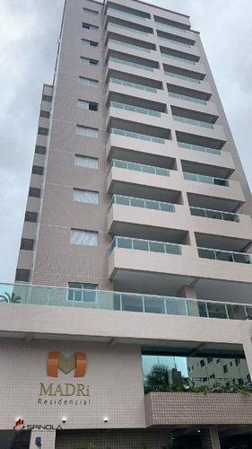 Imagem 1 de 20 de Apartamento Com 2 Dormitórios À Venda, 72 M² Por R$ 329.000,00 - Canto Do Forte - Praia Grande/sp - Ap3566