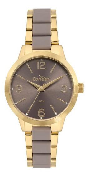 Relógio Condor Feminino Top Fashion Co2035mrf/5m Bicolor