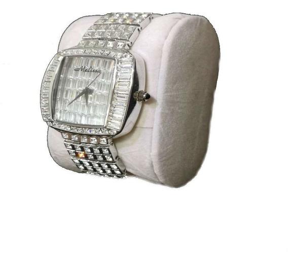 Relógio De Pulso Luxo Feminino - Cristal Original Unique