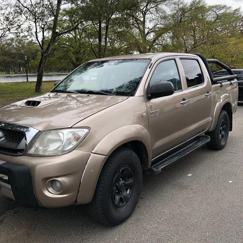 Imagen 1 de 9 de Toyota Hilux 3.0 Lts 2009 Srv 4x4 Impecable!