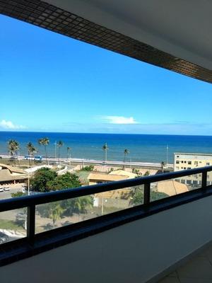 Apartamento Vista Mar, 2/4, Suíte, 80m², Varanda, Nascente - Pituaçu - Ap2069