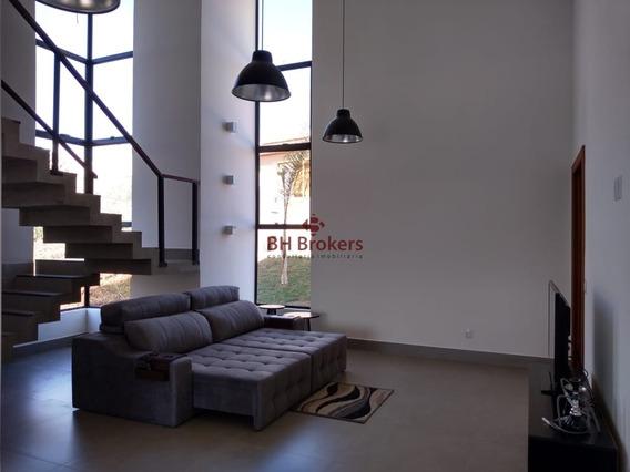 Casa Com 4 Quartos Para Comprar No Residencial Park I Em Vespasiano/mg - 15421
