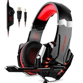Fone Gamer Kotion Each G9000 Headset Usb P2 Ps4 Pc Vermelho