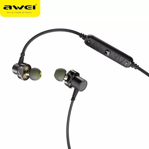 Fones De Ouvido Bluetooth Dual Driver Bass Awei X660bl
