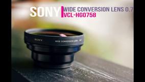 Kit P/ Câmera Sony (cont Rmav2, Lent Vclhgo73a, Bat Npfh70)