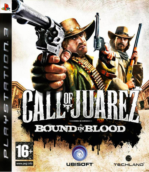 Call Of Juarez Bound In Blood Ps3 Mídia Física