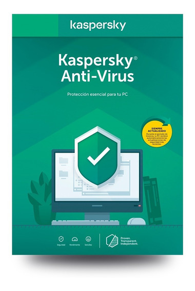 Kaspersky Anti-virus 1 Dispositivo 1 Año