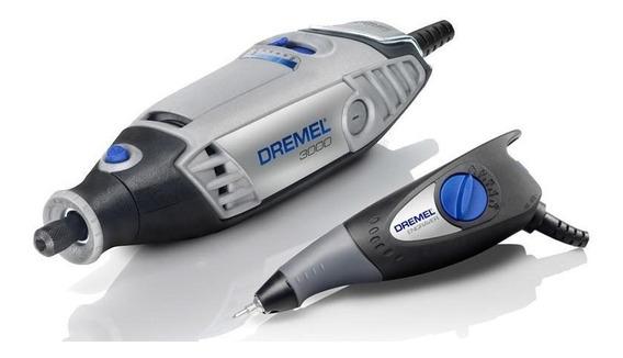 Mototool 3000pa 10 Accesorios + Grabador 290 Dremel