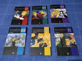 Coleção Mangá Fullmetal Alchemist Jbc - Números Avulsos
