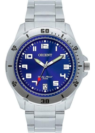 Relógio Orient Masculino Mbss1155a D2sx Azul