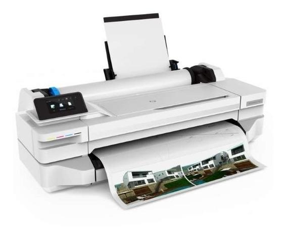 Plotter Hp T130 5zy58a#b1k Designjet D 61 Cm + Bulk Ink Nova