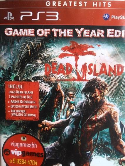Dead Island Ps3 Original , Mídia Física , A Pronta Entrega