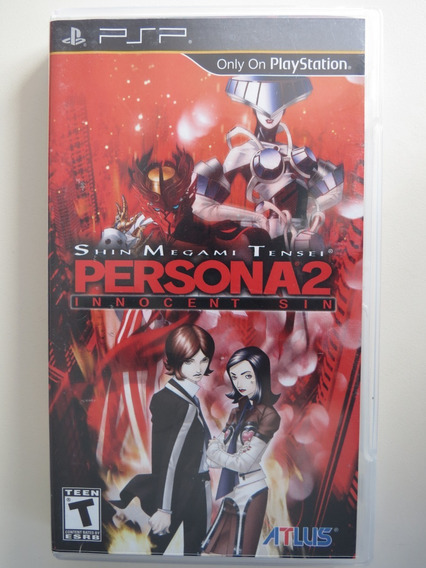 Shin Megami Tensei Persona 2 Innocent Sin Psp - Física Usado