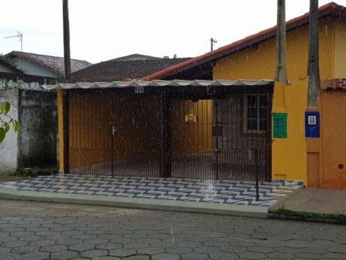 (ref: 3551) Casa- Itanhaém/sp - Jardim Laranjeiras