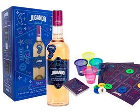 Kit Jugando Spirits Con Loteria Para Beber Y Botella Tequi