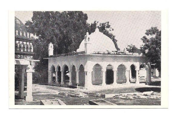 Antigua Postal Foto Delhi Dargah Of Roshan Chiragh India 528