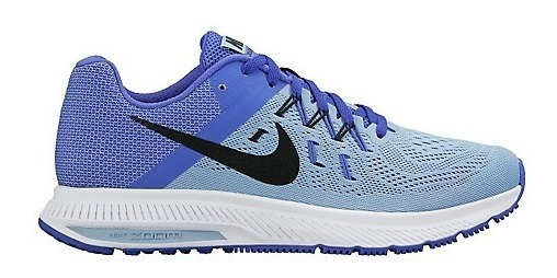 Tenis Nike Zoom Winflo 2 Azul Gris Dama 807279-402