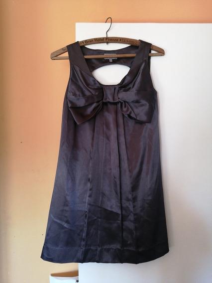 Vestido Seda Natural Importado Francia, Impecable